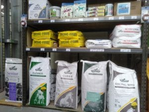 Cheval alimentation - Grocery store